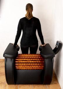 Thighs back - Heal Wheel -full body massage machine
