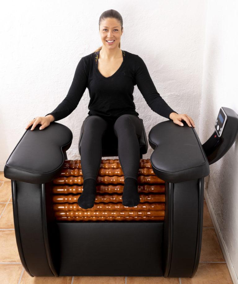 Calves - Heal Wheel -full body massage machine